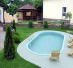 Как построить бассейн во дворе дома, на даче, в саду