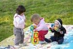 Отдых на природе с детьми. Что взять и как играть.