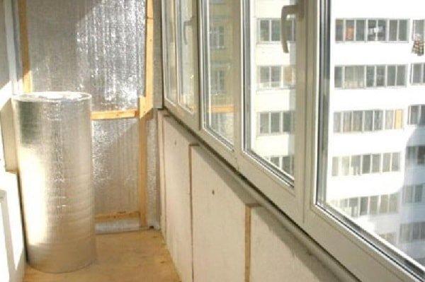 Утепление балкона и лоджии своими руками