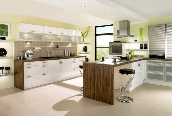 Awesome Small Kitchen with Island Designs