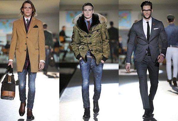 Мужская мода на осень зиму 2014-2015