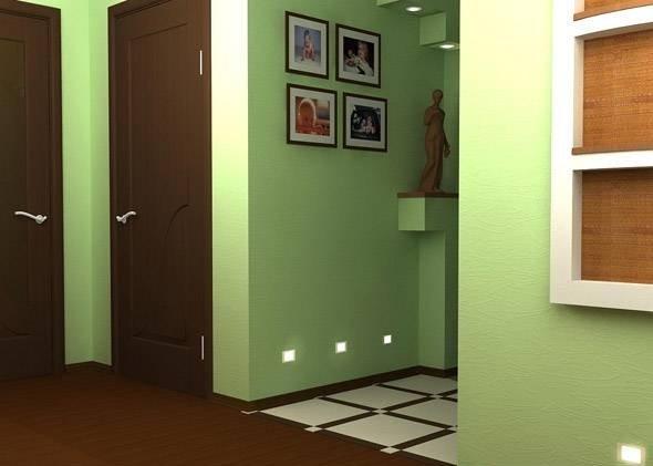 Интерьер прихожей в маленькой квартире