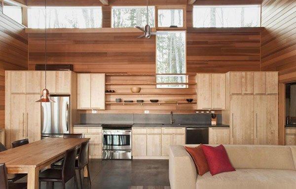 интерьер стен кухни