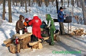 Как собраться на пикник осенью или зимой