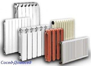 Современные виды радиаторов отопления