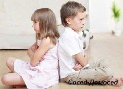 Ссоры детей в семье
