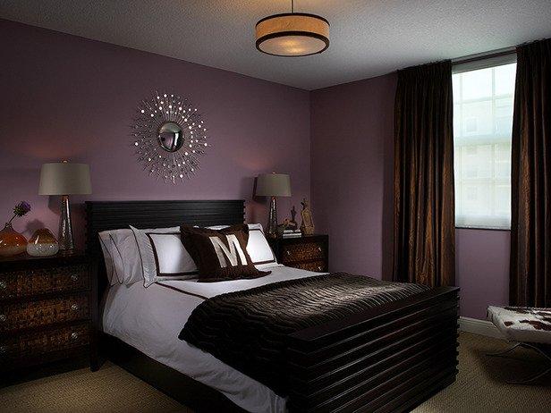Цвета в интерьере спальни