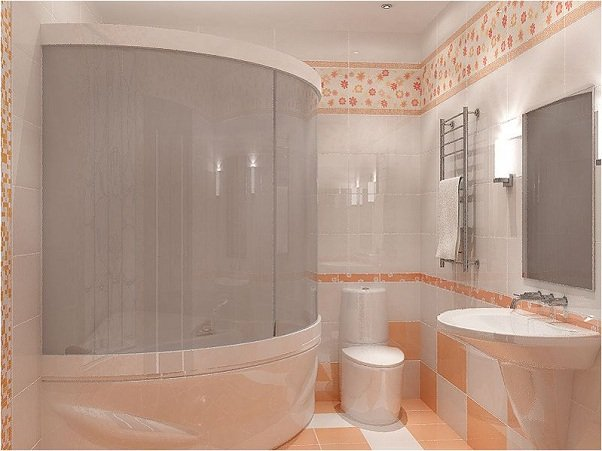 Обустройство небольшой ванной комнаты