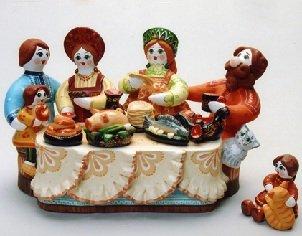 Культура приема пищи и культ еды