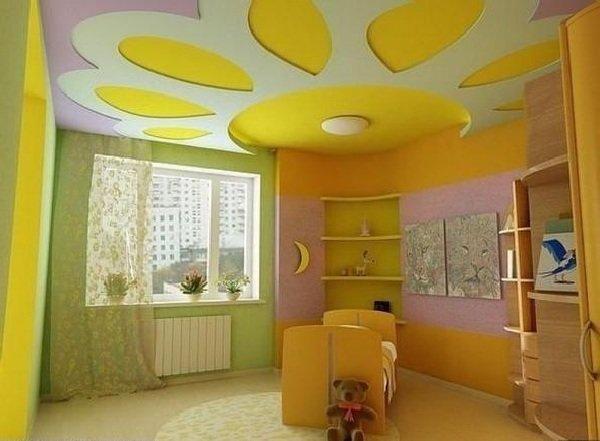 Обстановка в детской комнате
