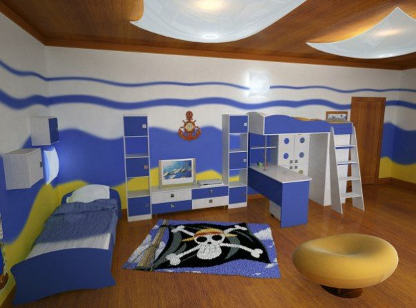 Обстановка в детской комнате фото 5
