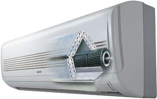 Очистка и замена фильтров бытовых кондиционеров