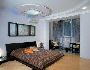 Потолочный фонарь в интерьере квартиры