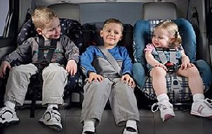 Правильное автокресло для ребенка.