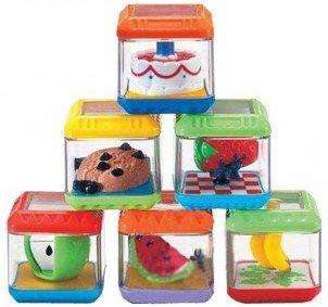 Сенсорные игры для малышей