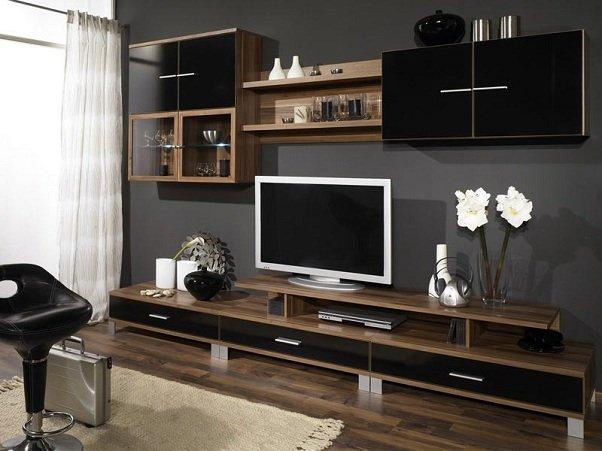 Современная корпусная мебель в интерьере