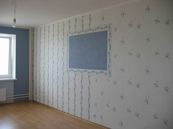 обои на стены комбинированные: