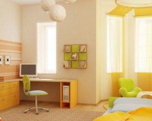 Выбор обоев в детскую комнату