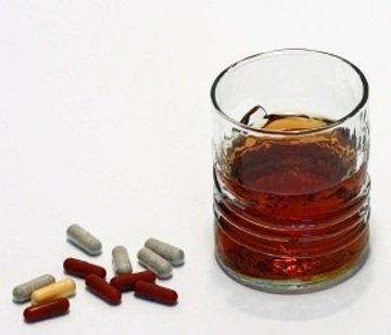 Алкоголь и лекарственные препараты часть 1
