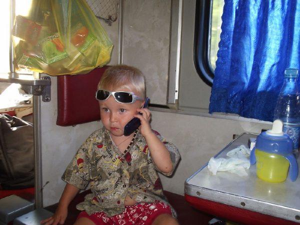 На поезде с ребенком — что взять в дорогу