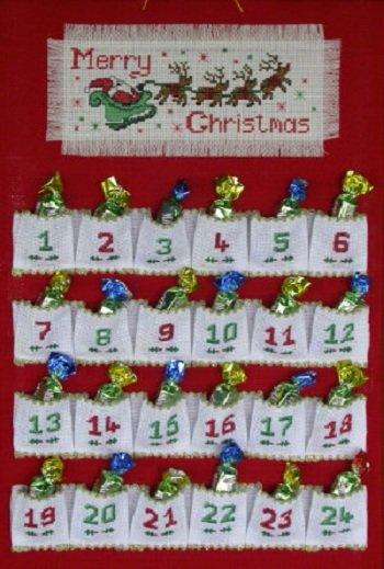 Новогодний адвент календарь для ребенка