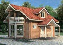 Преимущества деревянных домов клееного бруса