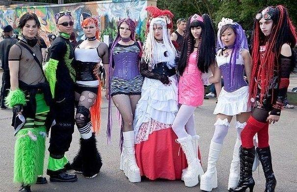 Современные субкультуры детей подростков