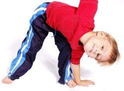 Упражнения дошкольникам для укрепления спины