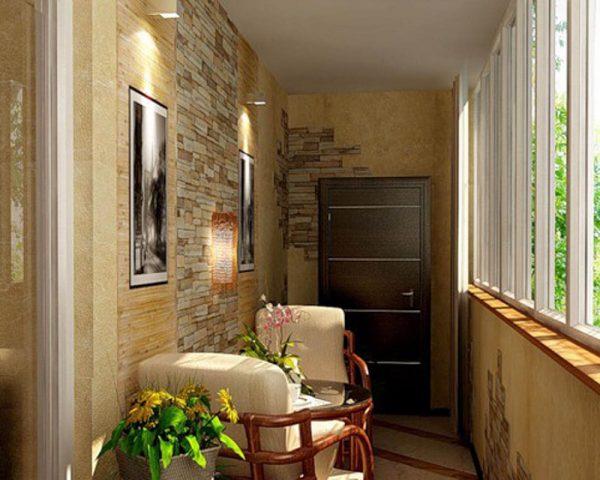 Варианты переоборудования балкона