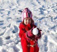 Малыш и снег