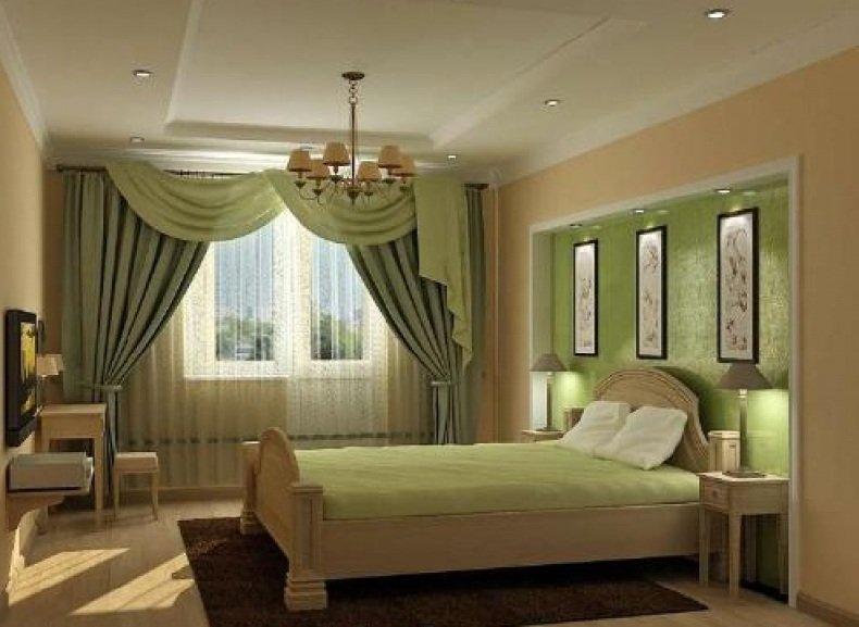 Правильные шторы для спальни последние тенденции