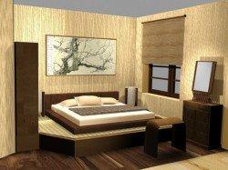 Современный стиль интерьера спальни