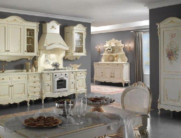 Стиль Барокко и классический Английский интерьера загородного дома