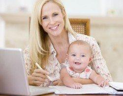 Как найти дополнительный заработок маме в декрете