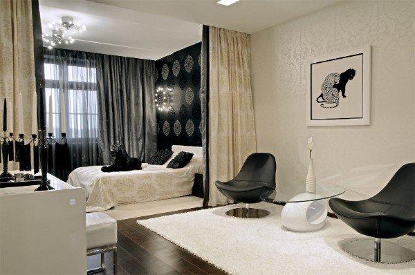 Как отделить спальную зону в маленькой квартире
