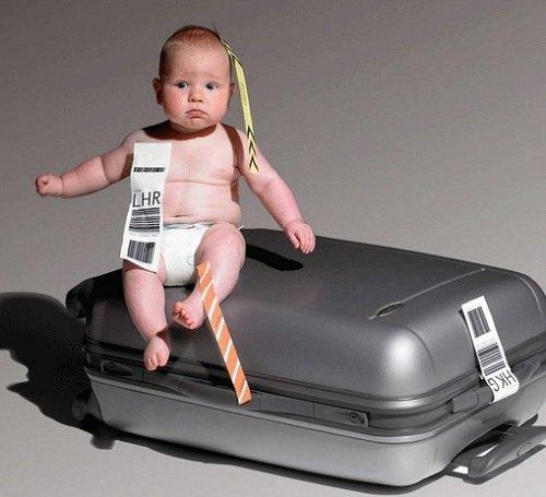Как путешествовать с маленькими грудными детьми