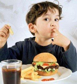 Лишний вес ребенка