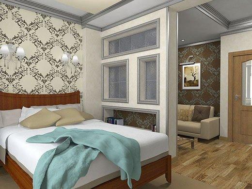 Выбор интерьера для однокомнатной квартиры