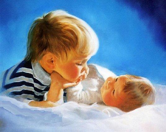 Как подготовить старшего ребенка к появлению малыша