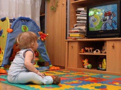 Влияние телевизора на маленьких детей