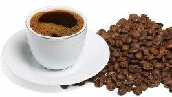 Кофе - черный кофе - чашка кофе