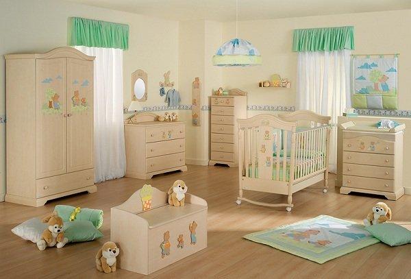 Обустройство детской комнаты перед рождением малыша