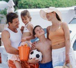 С детьми в отпуск на море