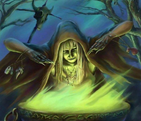 Не все женщины ведьмы