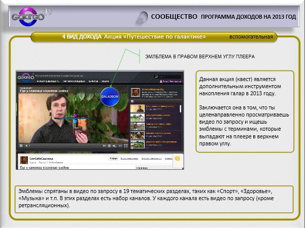 Заработок на Галарго ТВ