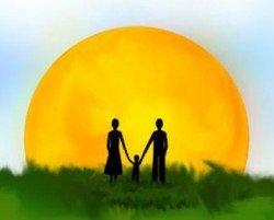 Кого больше любит ребенок - маму или папу