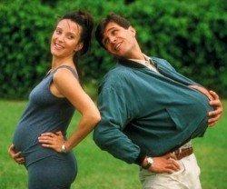 Муж во время беременности жены