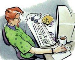 Работа на дому вакансии