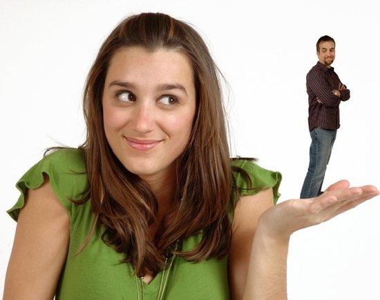 Зависть мужа успехам жены.