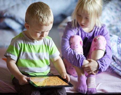 Дети и интернет.